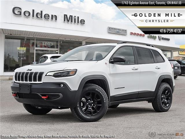 2020 Jeep Cherokee Trailhawk (Stk: 20075) in North York - Image 1 of 23