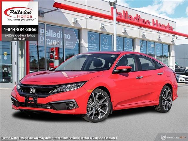 2020 Honda Civic Touring (Stk: 22140) in Greater Sudbury - Image 1 of 23