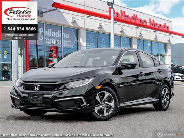 2020 Honda Civic LX (Stk: 22258) in Greater Sudbury - Image 1 of 23