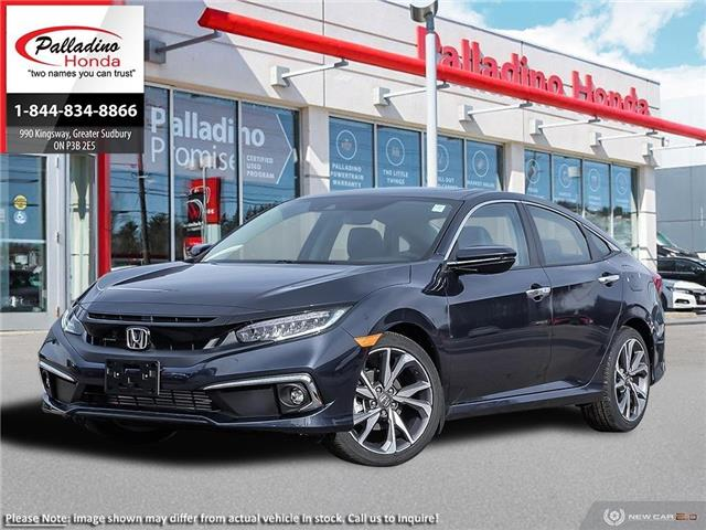 2020 Honda Civic Touring (Stk: 22420) in Greater Sudbury - Image 1 of 23