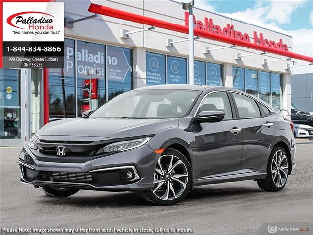 2020 Honda Civic Touring (Stk: 22370) in Greater Sudbury - Image 1 of 23