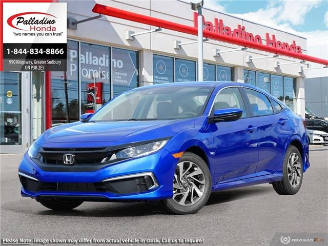 2020 Honda Civic EX (Stk: 22406) in Greater Sudbury - Image 1 of 23