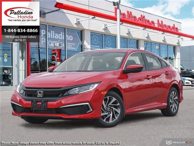 2020 Honda Civic EX (Stk: 22451) in Greater Sudbury - Image 1 of 23