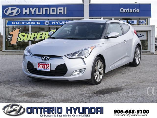 2016 Hyundai Veloster SE (Stk: 72128L) in Whitby - Image 1 of 18