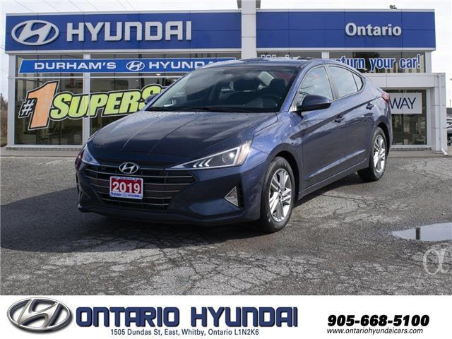2019 Hyundai Elantra Preferred (Stk: 12847K) in Whitby - Image 1 of 19
