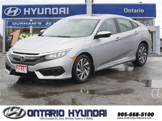 2018 Honda Civic EX (Stk: 00420K) in Whitby - Image 1 of 20