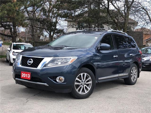 2013 Nissan Pathfinder SL |SUNROOF |4WD |LEATHER |LOADED!! (Stk: 5612) in Stoney Creek - Image 1 of 21