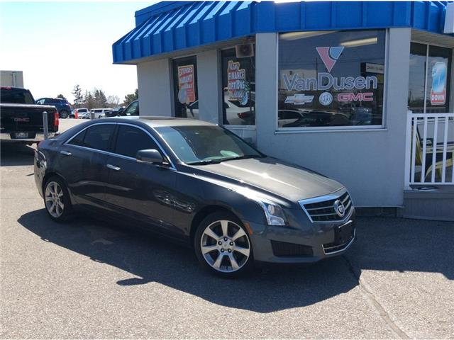 2013 Cadillac ATS 4dr Sdn 2.0L Luxury AWD (Stk: B7652A) in Ajax - Image 1 of 25
