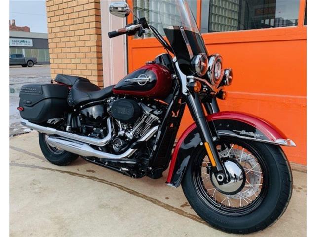 2020 Harley-Davidson FLHCS - Softail® Heritage Classic 114  (Stk: FLHCS-20-7331) in Saskatoon - Image 1 of 9