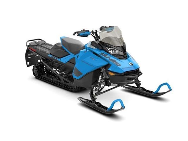 New 2020 Ski-Doo Backcountry™ Rotax® 600R E-TEC® Octane Blue / Blac   - YORKTON - FFUN Motorsports Yorkton