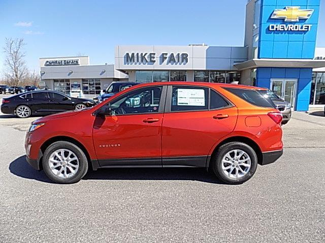 2020 Chevrolet Equinox LS (Stk: 20157) in Smiths Falls - Image 1 of 18