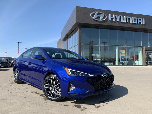 2020 Hyundai Elantra Sport (Stk: 30186) in Saskatoon - Image 1 of 20