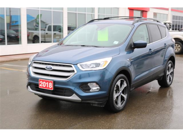 2018 Ford Escape SEL (Stk: U1121) in Fort St. John - Image 1 of 19