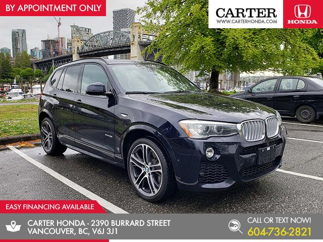 2017 BMW X3 xDrive35i (Stk: 2L08322) in Vancouver - Image 1 of 27