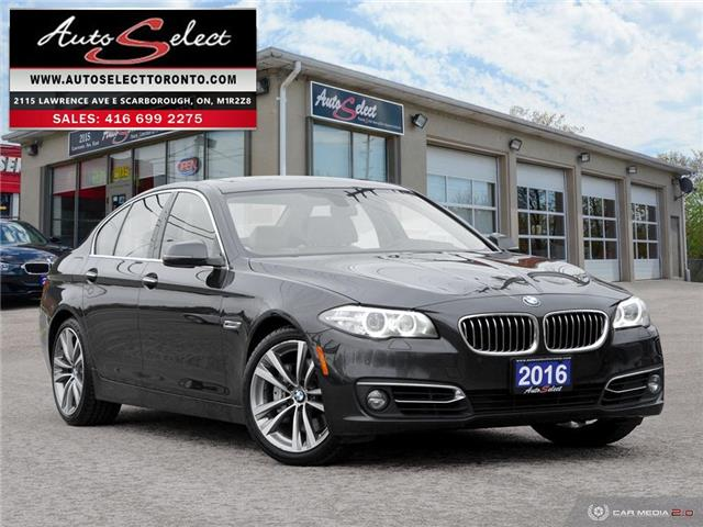 2016 BMW 535i xDrive WBA5B3C53GG256575 1Q2G3X1 in Scarborough