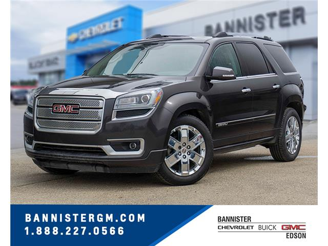 2014 GMC Acadia Denali (Stk: 19-083A) in Edson - Image 1 of 17
