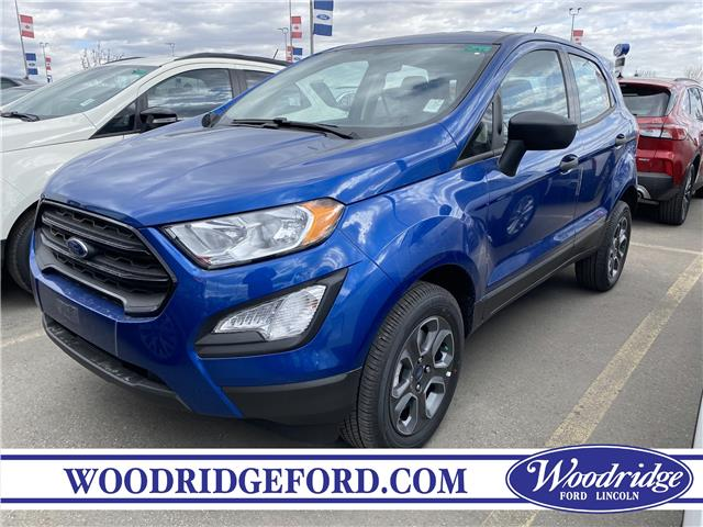 2020 Ford EcoSport S (Stk: L-846) in Calgary - Image 1 of 4