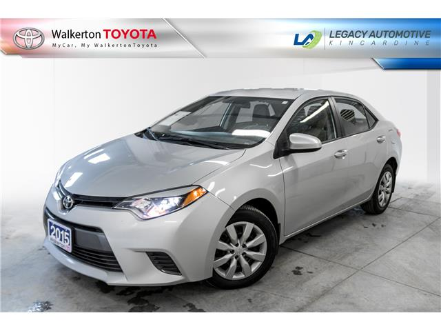 2015 Toyota Corolla LE (Stk: PL047) in Kincardine - Image 1 of 15