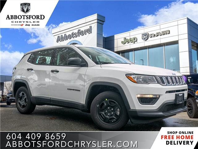 2020 Jeep Compass Sport (Stk: L141110) in Abbotsford - Image 1 of 24
