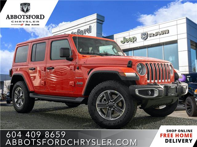 2020 Jeep Wrangler Unlimited Sahara (Stk: L162396) in Abbotsford - Image 1 of 24