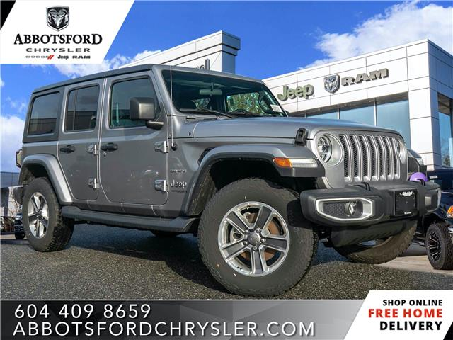 2019 Jeep Wrangler Unlimited Sahara (Stk: K626180) in Abbotsford - Image 1 of 24