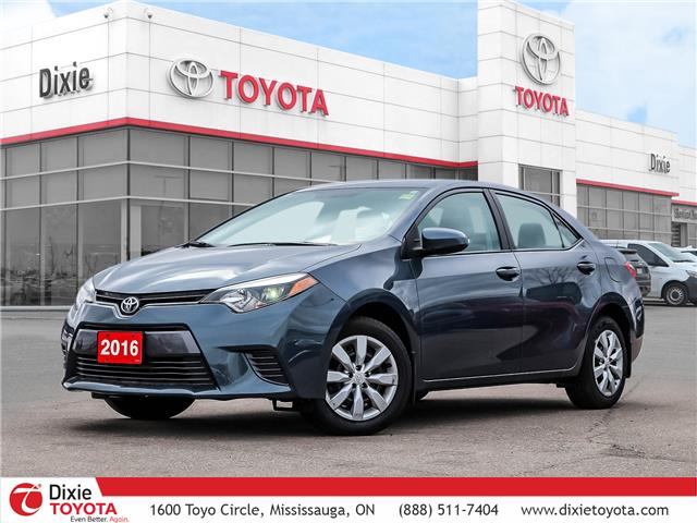 2016 Toyota Corolla LE (Stk: D201271A) in Mississauga - Image 1 of 27