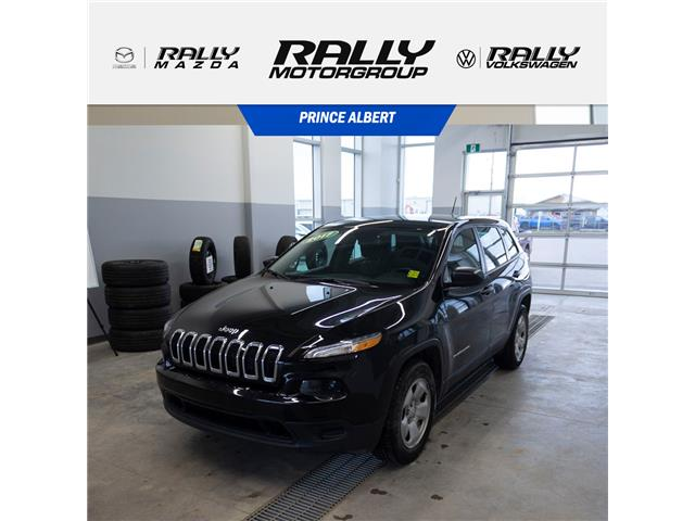2017 Jeep Cherokee Sport (Stk: V782A) in Prince Albert - Image 1 of 18