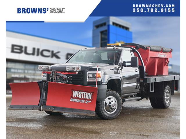 2015 GMC Sierra 3500HD Chassis SLE (Stk: T19-1197A) in Dawson Creek - Image 1 of 7