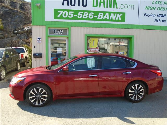 2017 Nissan Altima 2.5 SV (Stk: ) in Sudbury - Image 1 of 6
