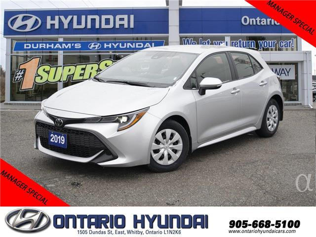 2019 Toyota Corolla Hatchback Base (Stk: 39269K) in Whitby - Image 1 of 20