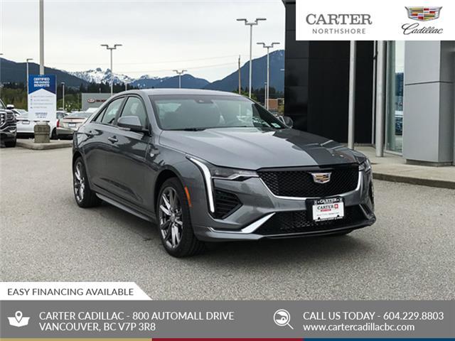 2020 Cadillac CT4 Sport (Stk: D57910) in North Vancouver - Image 1 of 24