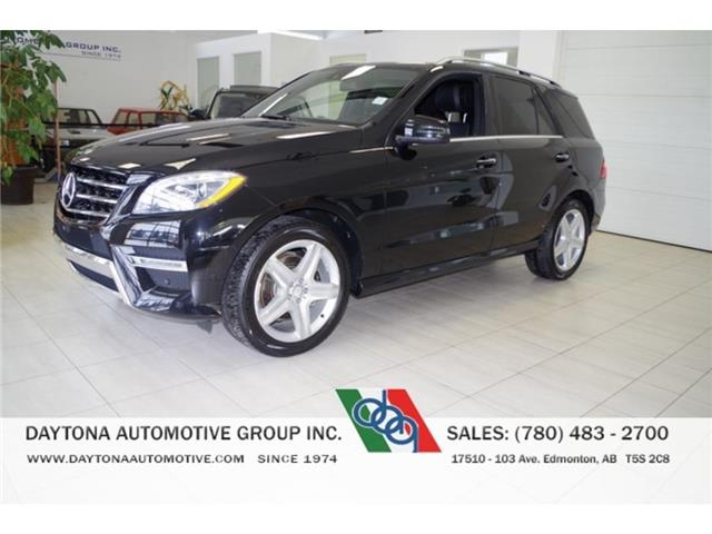 2015 Mercedes-Benz M-Class SALE PRICED! ONLY 77,000KMS! (Stk: 8611-2) in Edmonton - Image 1 of 19