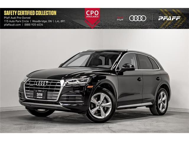 2018 Audi Q5 2.0T Progressiv (Stk: C7436) in Woodbridge - Image 1 of 22