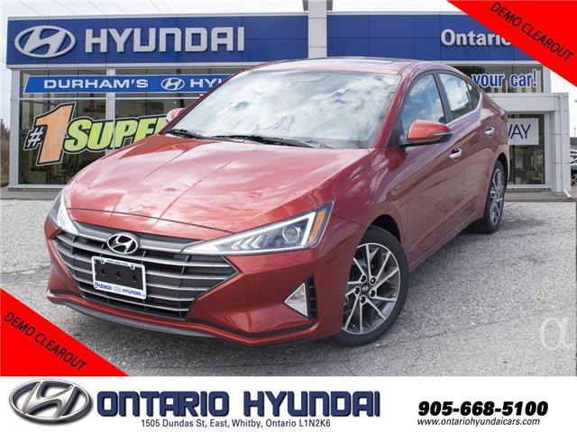 2020 Hyundai Elantra Luxury (Stk: 972965) in Whitby - Image 1 of 20