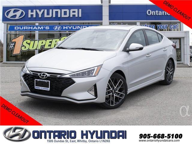 2019 Hyundai Elantra Sport (Stk: 826819) in Whitby - Image 1 of 19