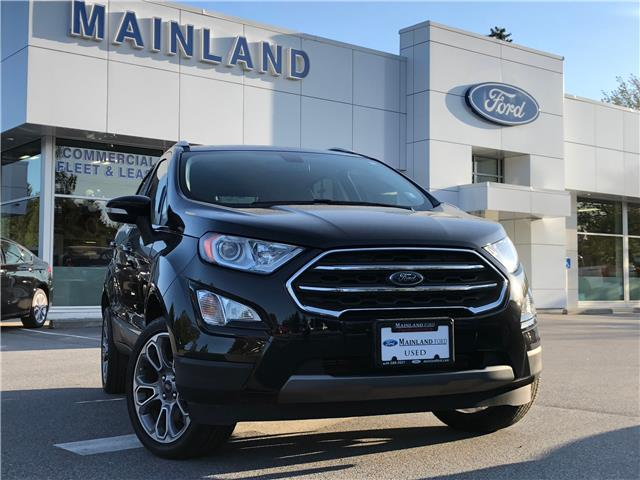 2018 Ford EcoSport Titanium (Stk: P11278) in Vancouver - Image 1 of 30