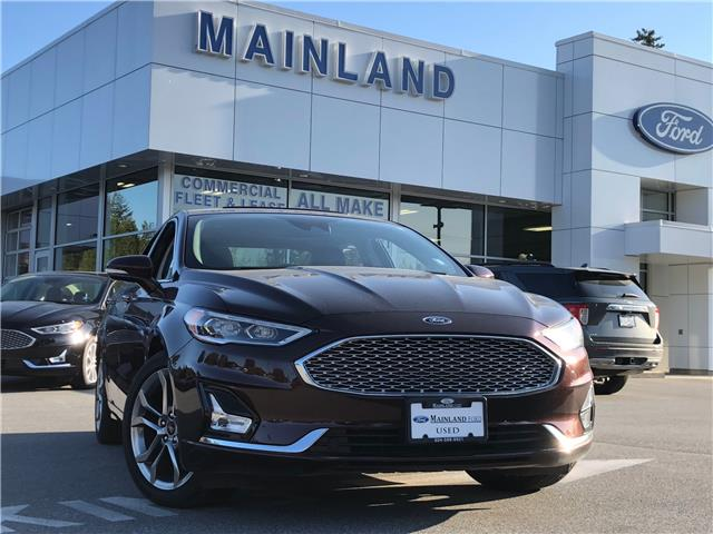 2019 Ford Fusion Hybrid Titanium (Stk: P1159) in Vancouver - Image 1 of 30