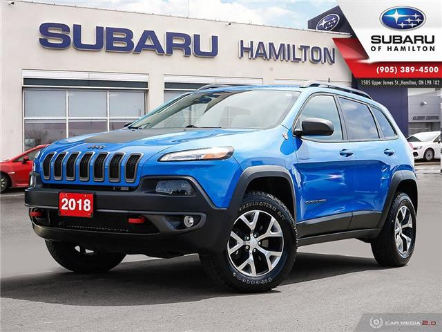 2018 Jeep Cherokee Trailhawk (Stk: S8294A) in Hamilton - Image 1 of 28