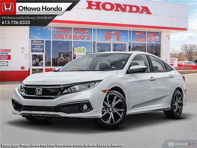 2020 Honda Civic Sport (Stk: 334850) in Ottawa - Image 1 of 23