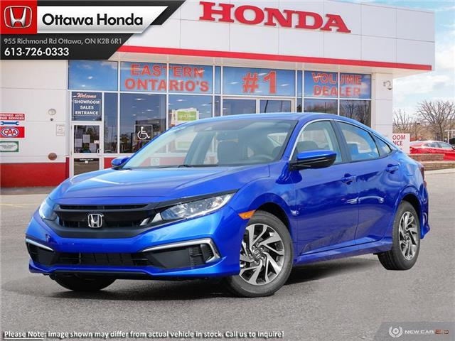 2020 Honda Civic EX (Stk: 335010) in Ottawa - Image 1 of 23
