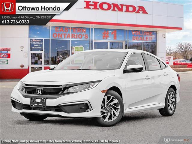 2020 Honda Civic EX (Stk: 334870) in Ottawa - Image 1 of 23