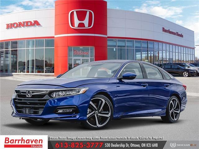 2020 Honda Accord Sport 2.0T (Stk: 2509) in Ottawa - Image 1 of 23