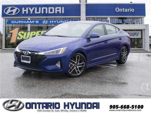 2020 Hyundai Elantra Sport (Stk: 001792) in Whitby - Image 1 of 18