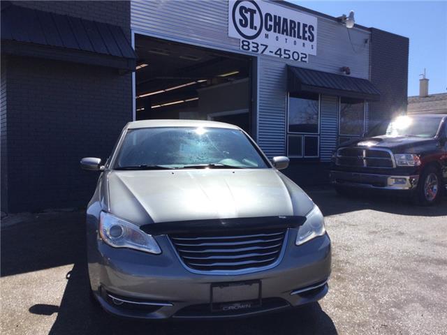 2012 Chrysler 200 Touring (Stk: -) in Winnipeg - Image 1 of 16