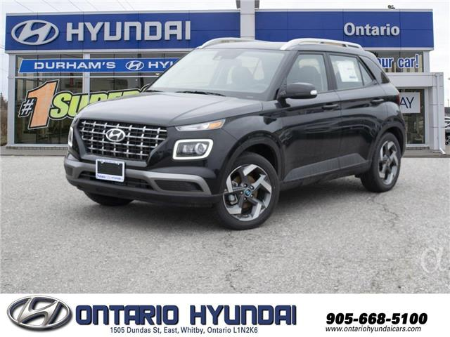 2020 Hyundai Venue Ultimate (Stk: 043962) in Whitby - Image 1 of 18