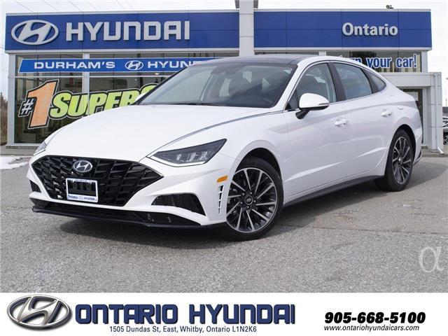 2020 Hyundai Sonata Sport (Stk: 049237) in Whitby - Image 1 of 22