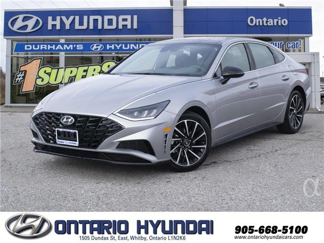2020 Hyundai Sonata Sport (Stk: 049872) in Whitby - Image 1 of 22