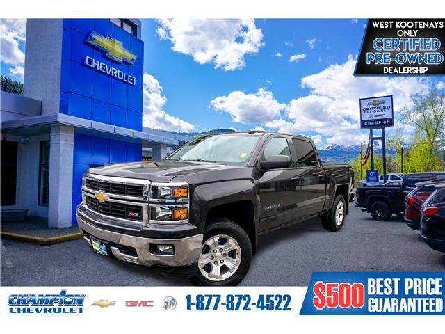 2015 Chevrolet Silverado 1500 LT (Stk: 20-14A) in Trail - Image 1 of 28