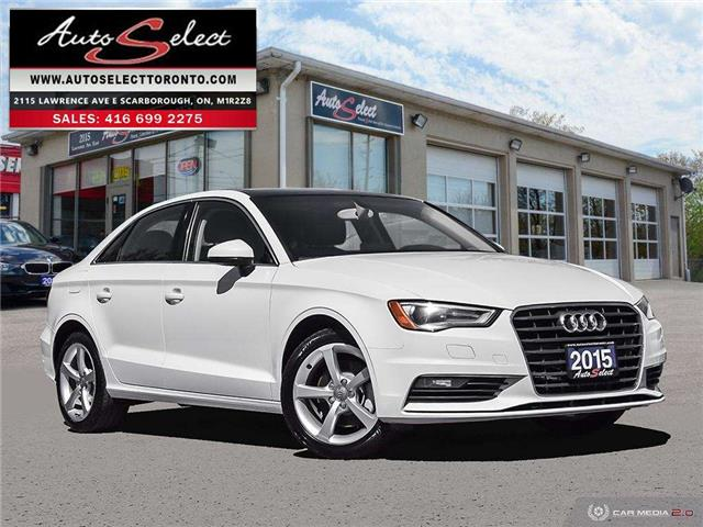 2015 Audi A3  (Stk: A31W721) in Scarborough - Image 1 of 28