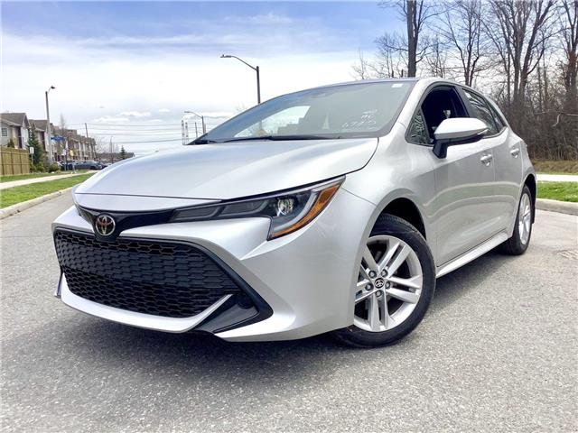 2020 Toyota Corolla Hatchback Base (Stk: 28327) in Ottawa - Image 1 of 15